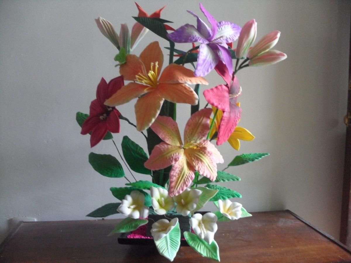 Moldes Para Hacer Flores Y Figuras De Fomi Fomy Foamy - $ 1,200.00 ...