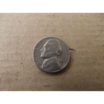 Moneda De 5 Centavos Usa 1957 Mn4