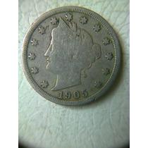 5 Centavos 1905 Eu