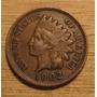 Moneda Centavo Cabeza De Indio 1902 Indian Head
