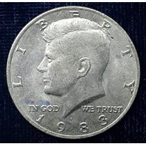 Cuatro Monedas Half Dollar Kennedy De Los 80´s