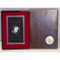 Moneda Eisenhower 1971 S Proof En Caja Original.