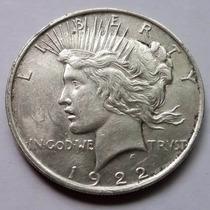 Dólar De Morgan 1922. Dos Caras