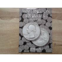 Album Coleccionador Washington Quarter 1965 - 1987
