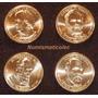 Monedas De Dallar Presidentes Año 2011 Set 4 Monedas Usa