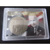 Moneda Eisenhower One Dollar 1972