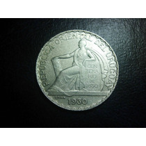 Uruguay 20 Centavos 1930 Plata Ley 0.800