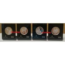Coleccion 4 Moneda Bicentenario Centenario Banxico 2010 Nvas