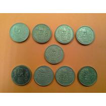Monedas 100 Pesos Venustiano Carranza Serie Completa 84-92