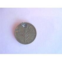 Moneda De 1 Centavo Bronce Trigo Año 1957, Para Pulsera