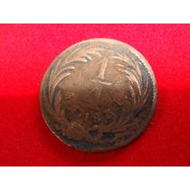 Moneda De 1/4 De Real 1834
