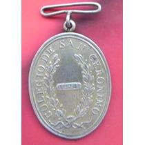 Medalla México Colegio San Geronimo Año 1874 Plata