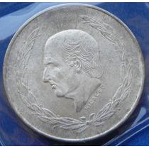 Moneda Mexico 5 Pesos 1954 S/circular Muy Escasa Plata