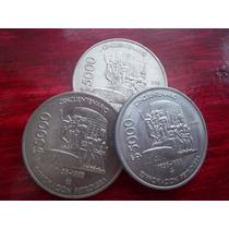 Moneda 5000 Pesos Expropiacion Petrolera 1988