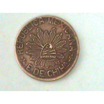 5 Centavos 1915 Edo De Chih Muy Escasa,circulada ! Gradec