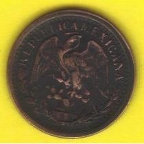 1 Centavo 1902 México Moneda General Porfirio Diaz Mori Hm4