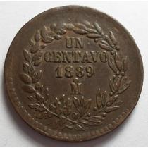 1 Centavo 1889 Mo República Mexicana