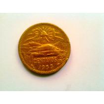 Moneda De 20 Cts, Muy Bien Cuidada