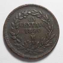 1 Centavo 1890 Mo - República Mexicana