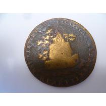 Antigua Moneda De 1/4 De R, 1825 De Zacatecas.