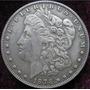 Lote De 10 Dólares Morgan 1878 Baño De Plata Acabado Antiguo