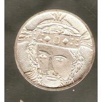 Medalla De Cristo Plata Pura