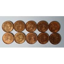10 Centavos 1959 (5) Y 1967 (5) Mo Eum Juarez - 10 Nuevas