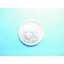 Holanda Moneda 10 Centavos Fecha 1939 Plata Ley 0.635