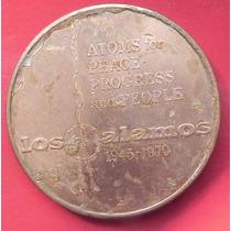 Medalla De Los Alamos Aniversario Bomba Nuclear Cobre