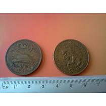 Lote De 100 Monedas De 20 Centavos Teotihuacan Diversos Años