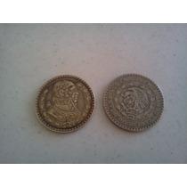 Coleccion 2 Monedas Un Peso De Los 50´s Y 60´s