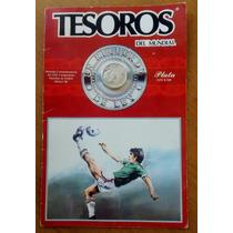 Moneda De 25 Pesos Mundial Mexico 1986 Nueva