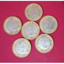Monedas Coleccion 20 Veinte Pesos Octavio Paz Año 2000