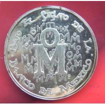 Medalla México Exposición Numismatica En España 1973 Plata
