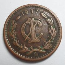 1 Centavo 1937 Estados Unidos Mexicanos