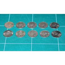 Lote De 10 Monedas De 20 Centavos 1974-1983