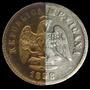 Mula 5 Centavos 1898 Guanajuato Republica Porfirio Plata