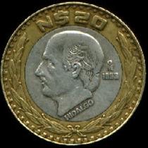 Monedas De Hidalgo De $20 Pesos