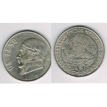 Un Peso Morelos 1978 Con Error De Troquelacion 9 Y 7