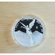 Moneda 1 Onza Libertad Acabado Proof 2015 !!