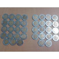 Coleccion De Monedas De 5 Pesos Rev/indep De Mexico
