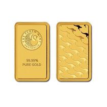 Nuevo Lingote Oro 1gr Perth Mint 99.9% Puro Blister Emgoldex