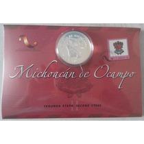 Mexico 2006 $10 Michoacan Plata Incl. Estuche Nueva Mp Msi