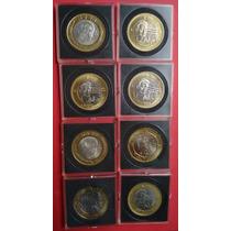 Capsulas Cuadradas Monedas De Colección 20 Pesos
