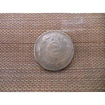 Moneda Mexico 1929 2 Centavo Escaso