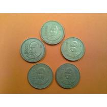 Monedas 1000 Pesos Serie Completa 1988-1992