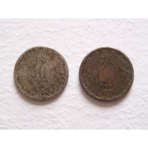 Se Venden Dos Monedas De 10 Centavos De 1936 Y 1946
