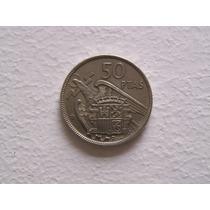 Se Vende Moneda De 50 Pesetas Española De 1957