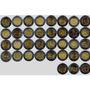 Remate De Colección De Monedas Conmemorativas De 5 Pesos
