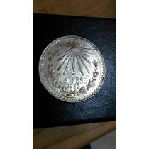 Moneda Un Peso Resplandor 1932 Plata 0.720